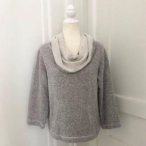 Eileen Fisher Cowl Neck Sweatshirt